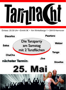 Hannovers TanzNacht